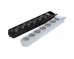 Фильтр сетевой 3 м Gembird SPG6-G-106 розеток, черный/ серый