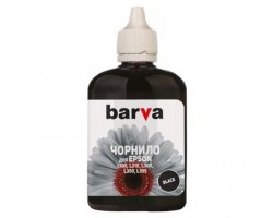 Чернила Barva Epson L100 /  L110 /  L120 /  L200 /  L210 /  L300 /  L350 /  L355 /  L550 /  L555 /  L1300, Black, 90 г (L100-398)