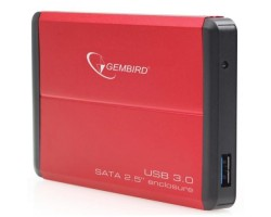 Карман HDD 2,5″ Gembird EE2-U3S-2-R Red SATA USB3.0