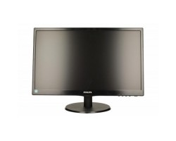 21.5″ Philips V-line 223V5LSB2/ 10 Black, WLED, TN, 1920x1080, 5 мс, 250 кд/ м2, 600::1, 90°/ 65°, VGA