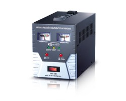 Стабилизатор Gemix GMX-500, 500 VA (350 Вт), вход. напряжение 140-260В, вых напряжение 220В + - 6,8%, аналоговые индикаторы