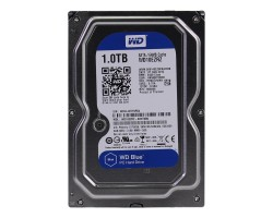 Жесткий диск 3.5″ 1Tb Western Digital Blue, SATA3, 64Mb, 5400 rpm (WD10EZRZ)
