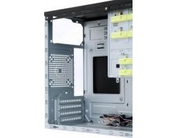 Корпус Chieftec ELOX Minitower /  HT-01B-OP /  без БП mATX/ mITX черный USB 3.0