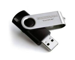 USB Flash Drive 16Gb Goodram Twister Black /  UTS3-0160K0R11 3.0