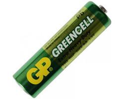 Батарейкa LR3 (AAA) GP Greencell, солевая, 1.5V, Shrink (GP24GEB-2S2)