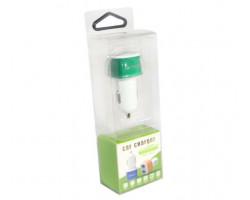 Автомобильное зарядное устройство Atcom ES-01, 2 x USB, 2.1A+1A (16990)