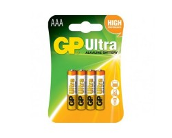 Батарейкa LR3 (AAA) GP Ultra Alkaline GP24AU-2UE4/  2UR5 (1.5 В щелочная) за 1 шт.