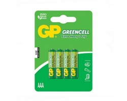 Батарейкa LR3 (AAA) GP Greencell GP24G-2UE4 (1.5 В солевая) за 1 шт.