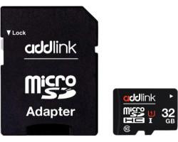 Карта памяти SD-micro 32Gb AddLink Class10 UHS-I SD адаптер (AD32GBMSH310A)