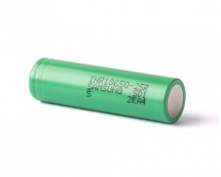 Аккумулятор 18650 2500mAh, Samsung, 1 шт, Li-Ion, 20A, 4.2/ 3.6/ 2.5V (INR18650-25R)