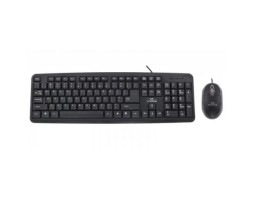 Комплект Esperanza TK106 USB (клавиатура+мышь) Black