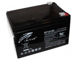 Аккумулятор ИБП 12В 12Ач AGM Ritar RT12120B Black Case /  12V 12.0Ah  /  151х98х101мм /  Q4