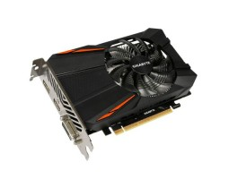 Видеокарта GeForce GTX1050Ti, Gigabyte, 4Gb DDR5, 128-bit, DVI/ HDMI/ DP, 1430/ 7008 MHz (GV-N105TD5-4GD)