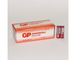 Батарейка (AA) GP Powercell Shrink 15E/ R6 (1.5 В солевая)