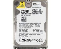 Жесткий диск 2.5″ 320Gb Western Digital AV-25, SATA2, 16Mb, 5400 rpm (WD3200BUCT) (Ref)