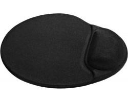 Коврик Defender Easywork Black /  гелевый с подушкой для руки