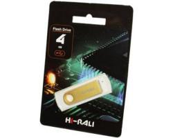 USB Flash Drive 4Gb Hi-Rali Shuttle series Gold /  HI-4GBSHGD