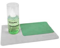 Набор чистящий ColorWay 3в1, для TFT/ LCD:: спрей 200 мл, микрофибра 30х30 см, микрофибра 11х18 см (CW-5200)