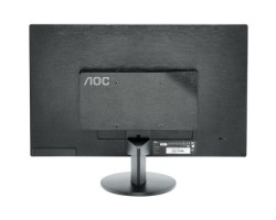 21.5″ AOC e2270Swn Black, WLED, TN, 1920x1080, 5 мс, 200 кд/ м2,  600::1, 90°/ 65°, VGA