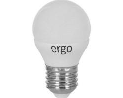 Лампа ERGO Standard G45 E27 4W 220V Тепл.Бел. 3000K Мат. н/ Дим.