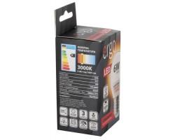 Лампа ERGO Standard G45 E27 6W 220V Тепл.Бел. 3000K Мат. н/ Дим.