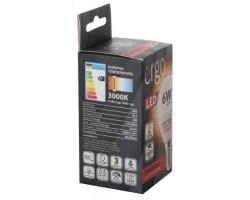 Лампа ERGO Standard G45 E14 6W 220V Тепл.Бел. 3000K Мат. н/ Дим.