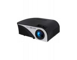 Проектор Tecro PJ-1020, LCD, 1500::1, 1200 lm, 800x480, HDMI, VGA, USB, AV