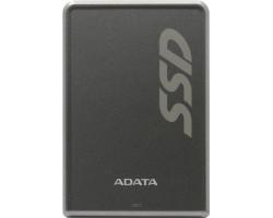 SSD внешний жесткий диск 256Gb A-Data SV620H, Grey, USB 3.1, TLC 3D NAND, 430 /  440 MB/ s, металличес