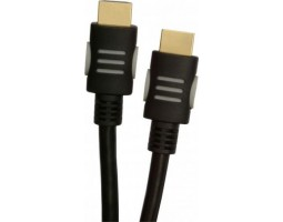 Кабель HDMI to HDMI 3.0m Tecro HD 03-00 V.1.4, позол. коннект.,