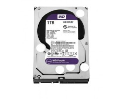 Жесткий диск 3.5″ 1Tb Western Digital Purple, SATA3, 64Mb, 5400 rpm (WD10PURZ) Б/ Н