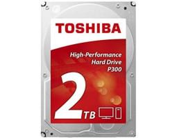 Жесткий диск 3.5″ 2Tb Toshiba P300, SATA3, 64Mb, 7200 rpm (HDWD120UZSVA) Б/ Н