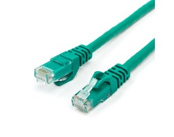 Патч-корд UTP литой 3.0m ATcom зеленый, кат.6 (9411)