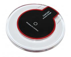 Беспроводное зарядное устройство Fantasy, Black + ресивер microUSB