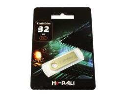USB Flash Drive 32Gb Hi-Rali Shuttle series Gold /  HI-32GBSHGD