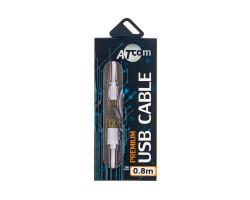 Кабель USB 2.0  - 0.8m AM/ Mini USB (5 pin), ATcom (3793)