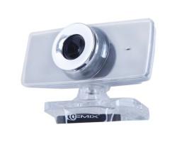 Вебкамера Gemix F9 Gray, 1.3 Mpx, 640x480, USB 2.0, встроенный микрофон
