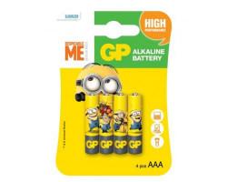 Батарейкa LR3 (AAA) GP Ultra Alkaline GP24AUYOY-2UE4 (1.5 В щелочная) за 1 шт.