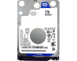 Жесткий диск 2.5″ 1Tb Western Digital Blue, SATA3, 128Mb, 5400 rpm (WD10SPZX)