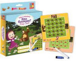 Игры с маркерами Маша и Медведь
