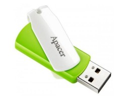 USB Flash Drive 64Gb Apacer AH335 Green /  AP64GAH335G-1