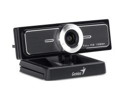 Web камера Genius WideCam F100 Black, 2.0 Mpx, 1920x1080, USB 2.0, встроенный микрофон