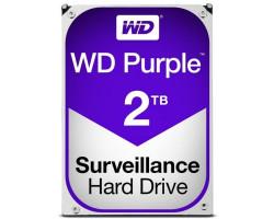 Жесткий диск 3.5″ 2Tb Western Digital Purple, SATA3, 64Mb, 5400 rpm (WD20PURZ)