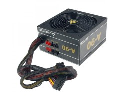 Блок питания Chieftec 650W GDP-650C, 140 mm, 24pin, 2x4+8pin, SATA х 6, Molex 3x4pin, 4x6+2pin, кабеля модульные