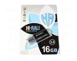 USB 3.0 Flash Drive 16Gb Hi-Rali Corsair series Black, HI-16GB3CORBK