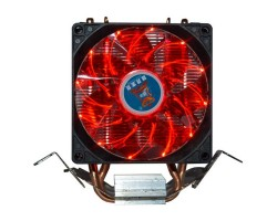 Вентилятор CPU Cooling Baby R90 RED LED 775/ 1150/ 1151/ 1155/ 1156/ AM4/ FM1/ FM2/ AM2/ AM2+/ AM3 93*133*130мм