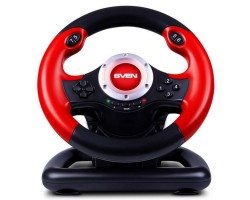 Руль Sven GC-W400 c педалями, vibration, 10 дополнительных кнопок