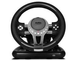 Руль Sven GC-W800 c педалями, vibration, 12 дополнительных кнопок, рычаг передач(Tiptronic)