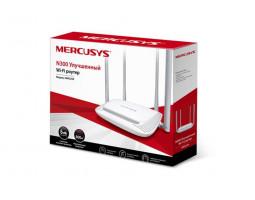 Роутер Mercusys MW325R Wi-Fi 802.11 b/ g/ n, 300Mb, 4 LAN 10/ 100Mb, режим точки доступа, быстрая настройка безопасности