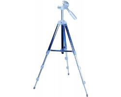 Фотоштатив Continent B2, Blue, 4 секции, нагрузка до 1.5 кг, 360-1060 мм, алюминий, 600 г