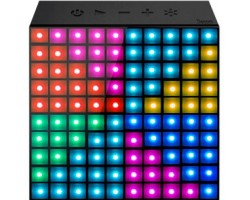 Колонка Bluetooth Divoom AuraBox Black, 5W, аккумулятор, LED подсветка
